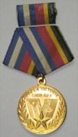 *O344 CUBA MILITAR MEDAL. RPA ANGOLA WAR. - Jetons & Médailles