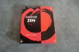 Coffret Divinatoire Sagesse ZEN 1 Livre + 30 Cartes - édité Par France Loisir - - Speelkaarten