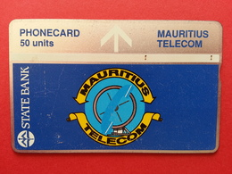Mauritius - 50u State Bank LG CN : 212k Used Ile Maurice - 212 K (CB1217 - Mauritius