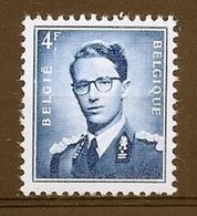 BELGIE Boudewijn Bril * Nr 926b * Postfris Xx * WIT  PAPIER - 1953-1972 Lunettes