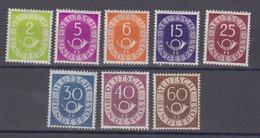 Bund Postkorn Lot Ungebraucht Mit MiNo. 123,125,126,129,131,132,133,135 * (130.-) - Ungebraucht