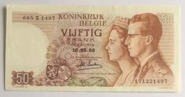 KONINKRIJK BELGIË - 50 FRANK - 1966 - [ 2] 1831-... : Royaume De Belgique