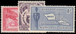 Samoa 1958 Inauguration Of Samoan Parliament Unmounted Mint. - Samoa