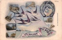 St-Gilles -Un Bonjour De St-Gilles - Fantaisie - Mulri-vues  - Hirondelles - St-Gillis - St-Gilles