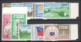Samoa 1962 Independence Set Unmounted Mint. - Samoa
