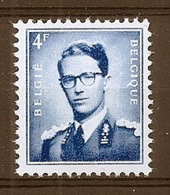 BELGIE Boudewijn Bril * Nr 926 P3b * Postfris Xx * FLUOR  PAPIER - 1953-1972 Lunettes