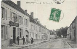02.PONTAVERT.  LA GRANDE RUE - France