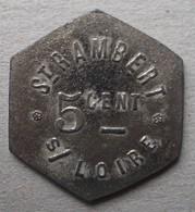 Monnaie De Nécessité - 42 - St Rambert Sur Loire - Potage - 5c - - Monetari / Di Necessità