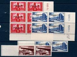 SARRE 1955 Réferendum Populaire    N° YT 344-346 ** MNH - 1947-56 Occupation Alliée