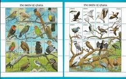 GHANA 1991 Timbres Oiseaux Birds Of Ghana - Ghana (1957-...)