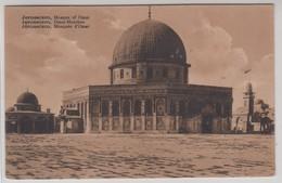 Jerusalem Mosque Of Omar - Israele