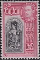 Ceylon.        .   SG  .   396      .  *     .      Mint-hinged   .   /    .   Ongebruikt - Ceylon (...-1947)