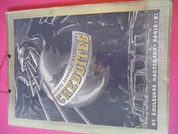Publicitaire/Plaque Carton Murale/Support D'éphéméride/Soc Générale D'Explosifs CHEDDITES/Paris/ Vers 1920-1930  BFPP216 - Plaques Publicitaires