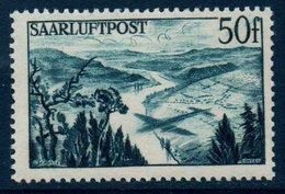 SARRE 1948 Vallée De La Sarre    N° YT PA10 ** MNH - Poste Aérienne