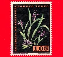VENEZUELA - Usato - 1962 - Fiori - Orchidee - Oncidium Falcipetalum Lindl - 1.05 Posta Aerea - Venezuela
