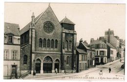 CPA Boulogne Sur Mer, L'Eglise Saint Michel (pk59032) - Boulogne Sur Mer