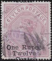 Ceylon      .   SG  .   176       .     O    .     Cancelled    .   /    .   Gebruikt - Ceylon (...-1947)