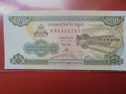 CAMBODGE 200 RIELS 1998 PEU CIRCULER/NEUF - Cambodia