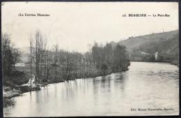 """""""La Corrèze Illustrée""""  25.BEAULIEU - Le Port-Bas - Autres Communes"""