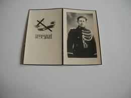 Rijkswachter Francois Van Rode (Ertvelde 1904-1955) - Gouden Medaille In De Orde Van Leopold II - Images Religieuses