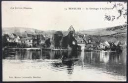 """""""La Corrèze Illustrée"""" 14. BEAULIEU - La Dordogne à La Chapelle - Francia"""