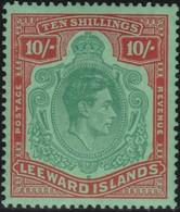 Leeward Islands        .   SG  .    113b  ( 2 Scans )      .  *     .      Mint-hinged   .   /    .   Ongebruikt - Leeward  Islands