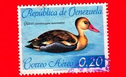 VENEZUELA - Usato - 1962 - Uccelli - Anatre - Guiriri ( Dendrocygna Autumnalis ) - 0.20 - Venezuela