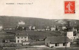 ALLASSAC, L'hopital Et La Gare - Autres Communes