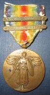 Medaille Interalliée US WW1 - 1914-18