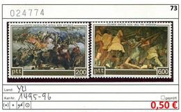 Jugoslawien - Yougoslavie - Jugoslavija - Michel 1495-1496 - ** Mnh Neuf Postfris - 1945-1992 República Federal Socialista De Yugoslavia