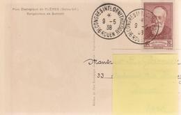 OBLIT. TEMPORAIRE CONGRES ORNITHOLOGIE ROUEN 5/38 Sur 380 Seul ANATOLE FRANCE - Marcophilie (Lettres)