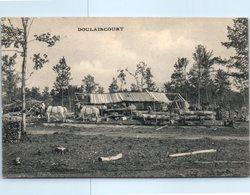52 - DOULAINCOURT --  Vue D'une Scierie Installée à La Forêt D'Heu - Doulaincourt