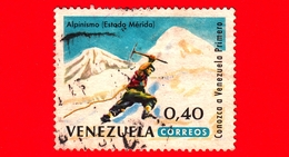 VENEZUELA - Usato - 1964 - Turismo - Merida - Alpinismo - Mountain Climbing - 0.40 - Venezuela