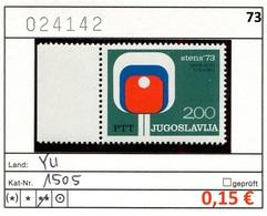 Jugoslawien - Yougoslavie - Jugoslavija - Michel 1505 - ** Mnh Neuf Postfris - 1945-1992 Sozialistische Föderative Republik Jugoslawien