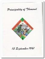 Principality Of Thomond 1961, Postfris MNH, Birds ( No Gum ) - Altri