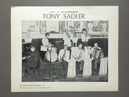 MELLE - Publiciteit - Tony Sadler - Dansorkest - Muziek - Music - Eddy Morino - Melle