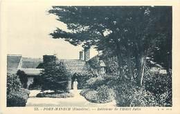 - Finistere - Ref-E184- Port Manech - Interieur De L Hotel Julia (jardins)- Hotels -edition Gaby N° 53 -carte Bon Etat - - Autres Communes