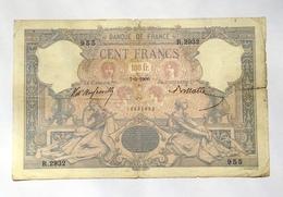 Billet 100 Francs Frs 7 Mai 1900 - Entier -  Quelques Déchirures (V. Scan) - 1871-1952 Circulated During XXth