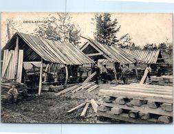 52 - DOULAINCOURT --  Vue D'une Scierie Installée à La Forêt D'Heu è N° 6 - Doulaincourt