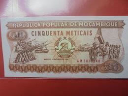 MOZAMBIQUE 50 METICAIS 1986 PEU CIRCULER/NEUF - Mozambique