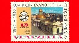 VENEZUELA - Usato - 1967 - 400 Anni Di Caracas - Palazzo Legislativo - 0.70 - P.aerea - Venezuela