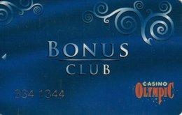 LETTONIA KEY CASINO  Olympic Bonus Club - RIGA - Casino Cards