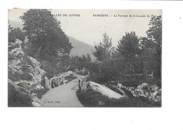 SAMOËNS. - La Terrasse De La Cascade Du Parc. Vallée Du Giffre. - Samoëns