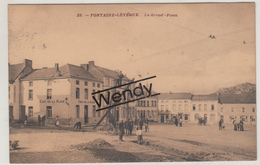 Fontaine L'Evêque (la Grand'Place - Café) - Fontaine-l'Evêque