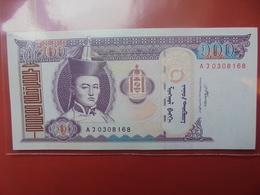 MONGOLIE 100 TUGRIK 2008 PEU CIRCULER/NEUF - Mongolei