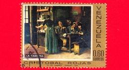 VENEZUELA - Usato - 1969 - Dipinti Di Cristobal Rojas (1858-1890) - La Taberna - 0.60 - Venezuela