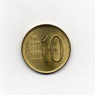 Corea Del Sud - 1980 - 10 Won - Vedi Foto - (MW2138) - Korea, South