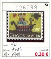 Jugoslawien - Yougoslavie - Jugoslavija - Michel 1519 - ** Mnh Neuf Postfris - - 1945-1992 Sozialistische Föderative Republik Jugoslawien