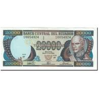 Billet, Équateur, 20,000 Sucres, 1999-03-10, KM:129c, TTB - Equateur