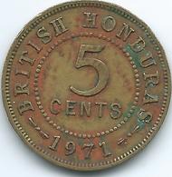 British Honduras - Elizabeth II - 5 Cents - 1971 - KM31 - Colonies